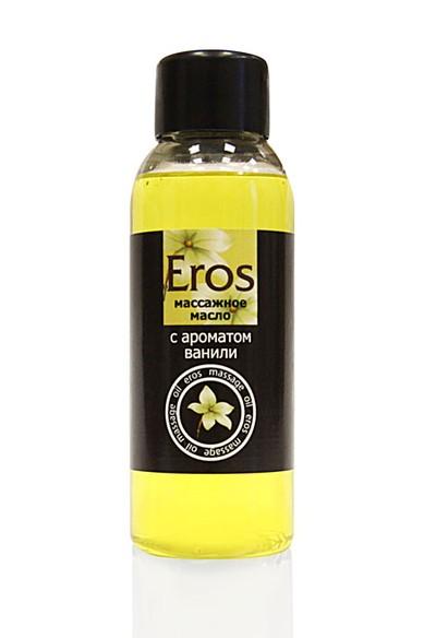 Масло массажное Eros, с ароматом ванили, диспенсер 50 мл