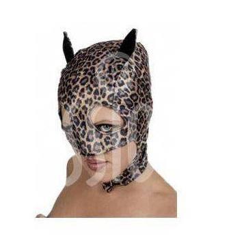 Шлем - леопард (текстиль)