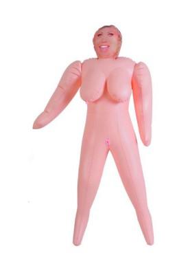 Кукла надувная ТОЛСТУШКА Dolls-X  полноразмерная, с большим бюстом