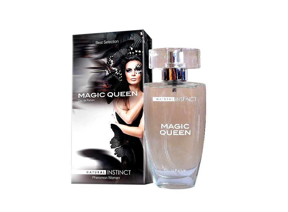 Женская парфюмерная вода с феромонами MAGIC QUEEN, 50 мл