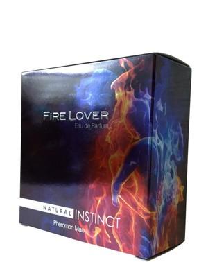 Парфюмерная вода с ферамонами  мужская Natural Instinct FIRE LOVER, 100 мл