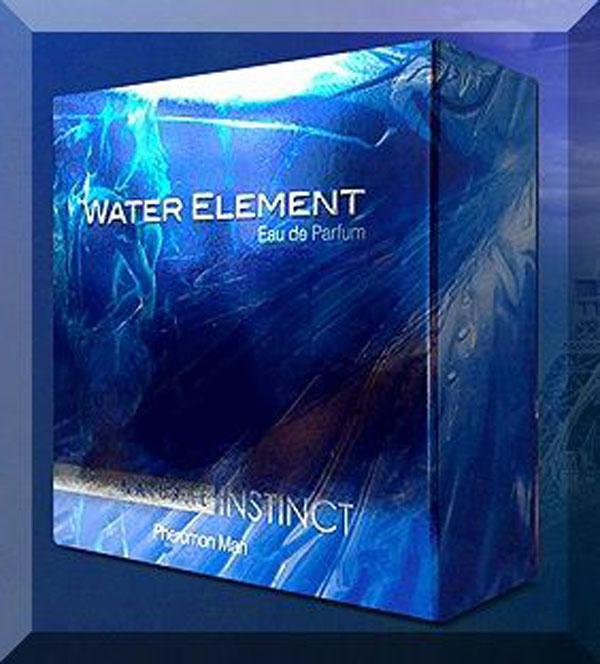 Уценка 50% Парфюмерная вода с ферамонами Natural Instinct  WATER  ElLEMENT, 100 мл
