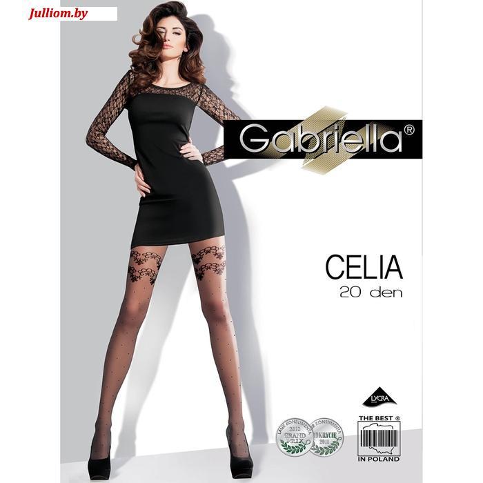 Колготки GABRIELLA CELIA  20 den, цвет черный, разм. 3