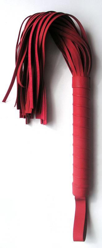 Плетеная плетка Notabu, красная, 40 см