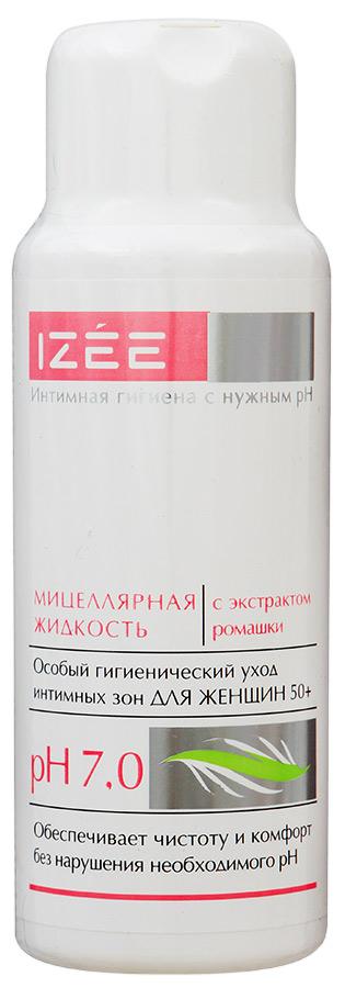 Мицеллярная жидкость для интимных зон ИЗЕЕ (IZEE) с экстрактом ромашки для женщин 50+, 250 мл