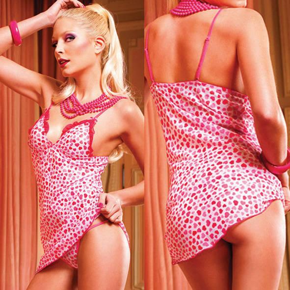 Мини-платье Barbie белый/розовый, OS (42-46