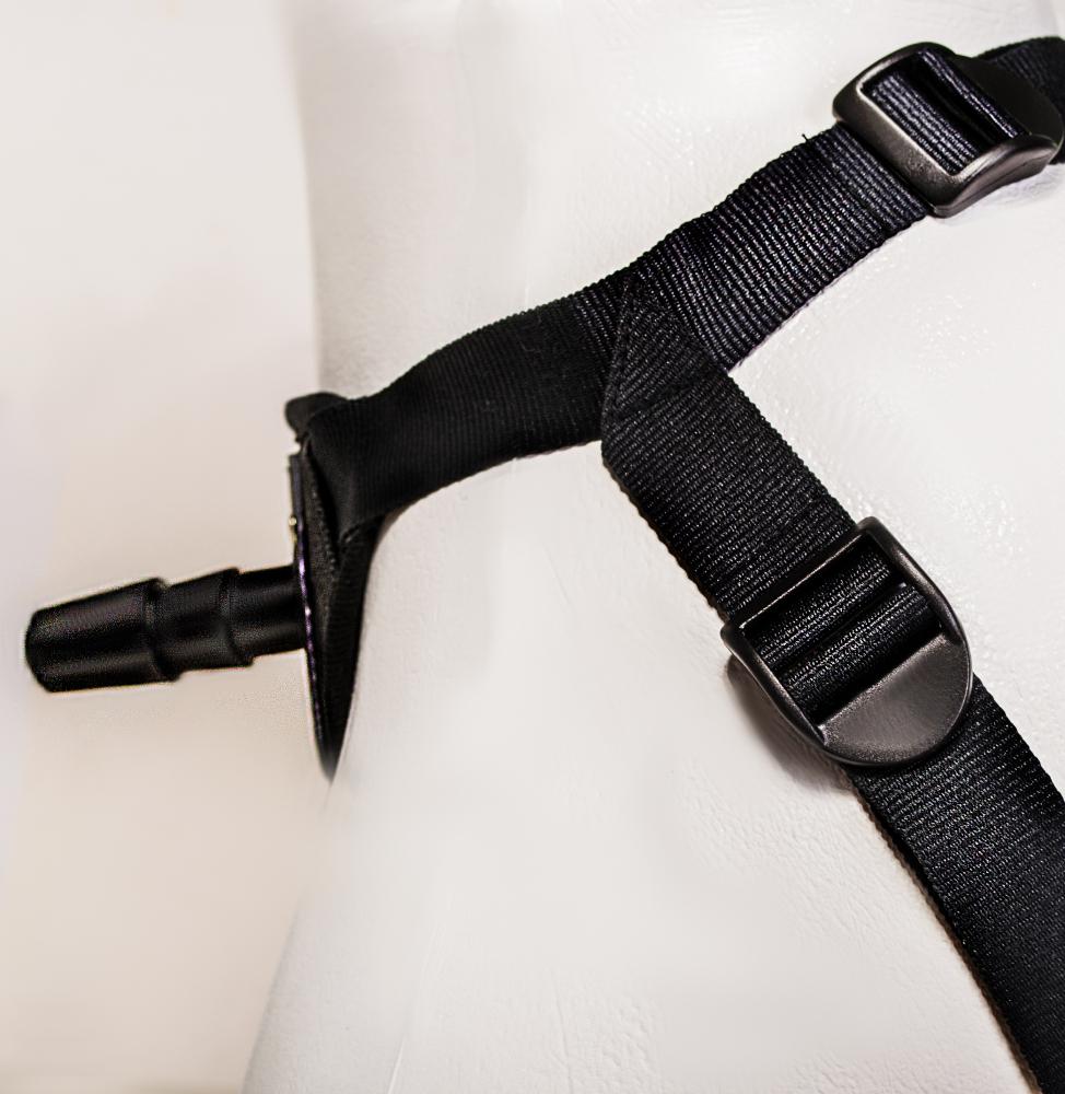 Трусики классические  CLASS STRAP,   искусственная  кожа, черные