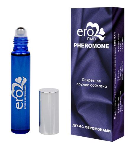 Мужские духи EROMAN №1 с феромонами, аромат XS Paco Rabanne , флакон ролл-он, 10 мл
