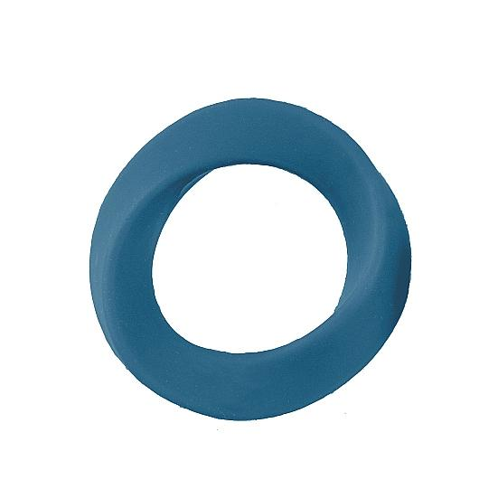 НОВИНКА!  Эрекционное кольцо большого размера  INFINITY XL BLUE, силикон, синее,  6,5(5) см