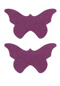 Пэстисы БАБОЧКИ,  фиолетовые, 8,5х4  см