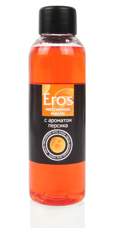 Масло массажное Eros, с ароматом персика, 75 мл