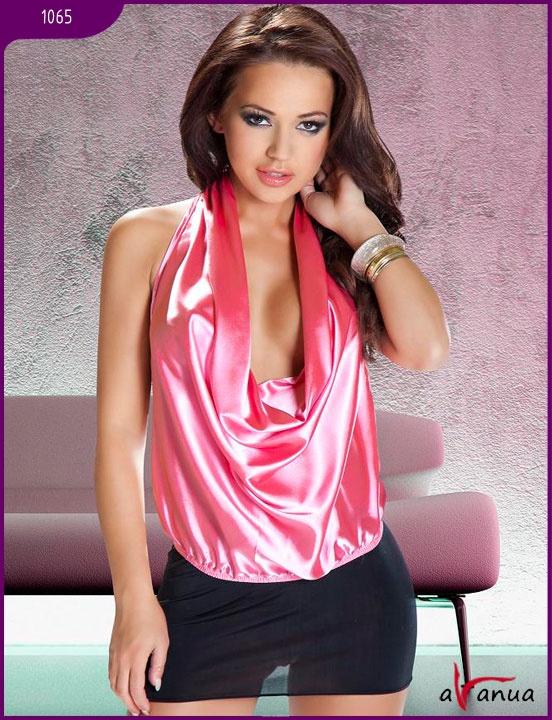 АКЦИЯ 20%!!! Комплект (топ, мини-юбка) Lavanya Pink, розовый, S/M