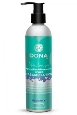 Увлажняющий лосьон для массажа с феромонами DONA Massage Lotion,  235 мл
