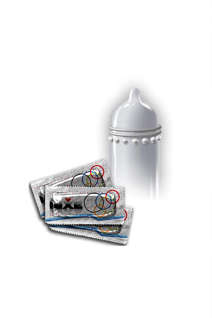 Презервативы LUXE ПОСТЕЛЬНОЕ ДВОЕБОРЬЕ, ребристые и текстурированные, 3 шт.