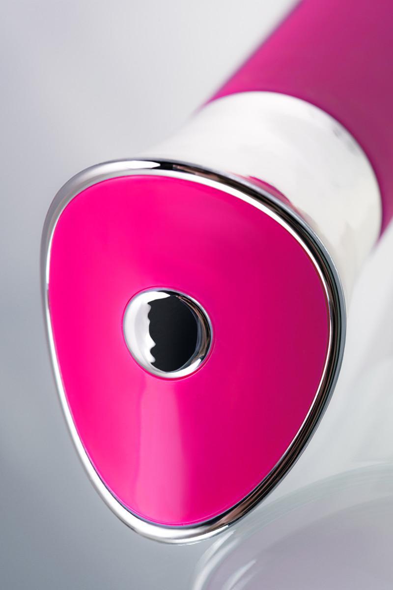 Вибратор  для точки G с гибкой головкой Jos GAELL, силикон, розовый,  21,6(17,5)х3,3 см