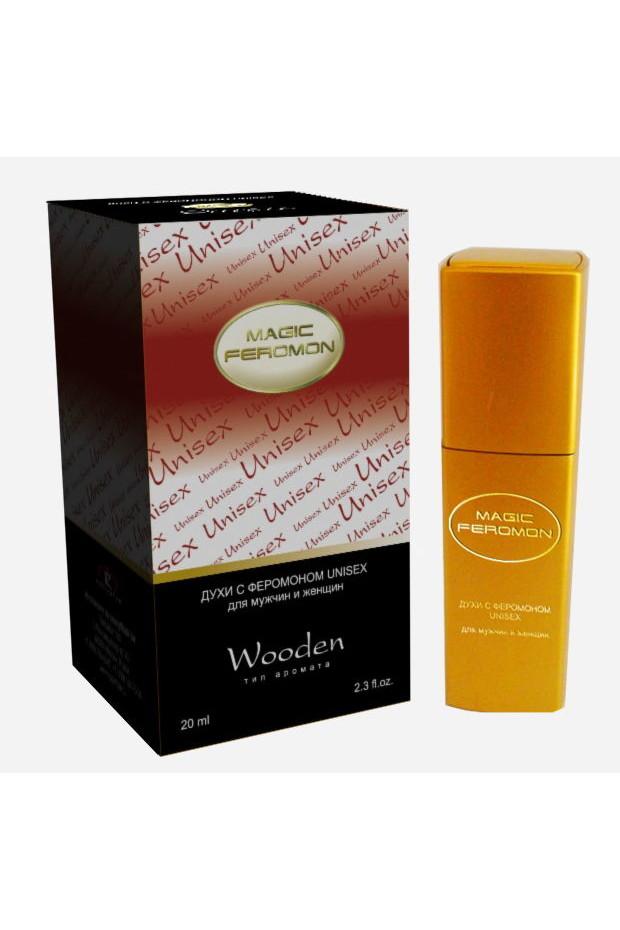 Духи с феромонами Magic Feromon Pheromone UNISEX WOODEN, 20 мл