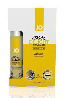 Стимулирующий гель для оральных ласк Oral Delight-Vanilla Thrill Оральный восторг ВАНИЛЬ 30 мл