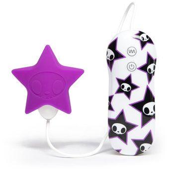 АКЦИЯ 45%! Дизайнерский мини-вибратор Tokidoki PINK STAR, 7 режимов, силикон, 6х3,5 см