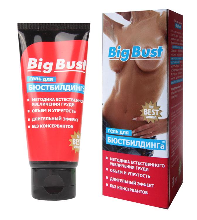 Гель для увеличения груди BIG BUST  туб,  50 гр