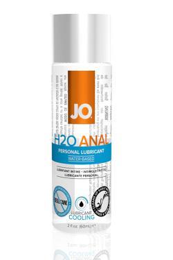 Анальный охлаждающий любрикант на водной основе JO Anal H2O COOL, 120 мл