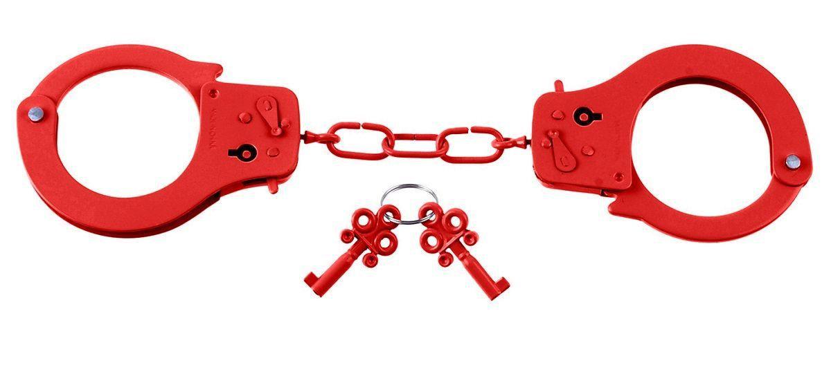 Наручники FETISH FANTASY  металлические красные