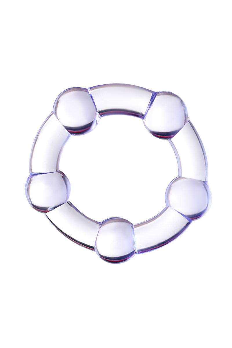Эрекционное кольцо TOYFA A-TOYS, силикон, фиолетовое, 3,3(2,1) см