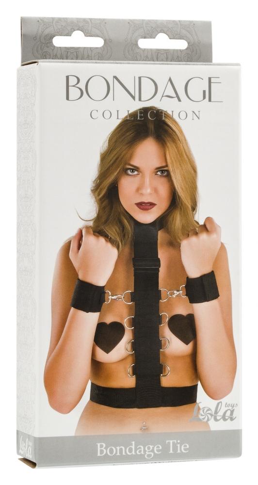 Набор для полной фиксации верхней части тела, полиэстер, черный, разм. Plus Size