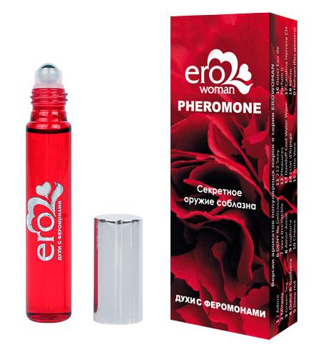 Ароматизирующая композиция с феромонами EROWOMAN №12   флакон ролл-он, 10 мл