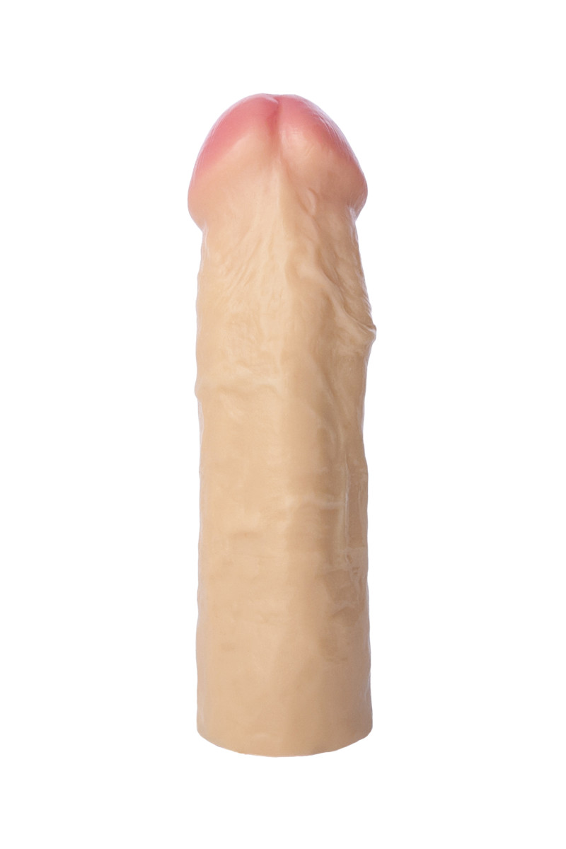 АКЦИЯ 15%! Фаллоимитатор-насадка REALITICK, телесный, 16,5 см