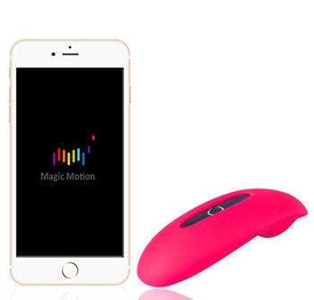 Умный клиторальный вибратор MAGIC CANDY SMART, управление c пульта ДУ, смартфона, 9 программ вибрации, силикон, розовый, 7,88 х 3,56 х 2,49 см