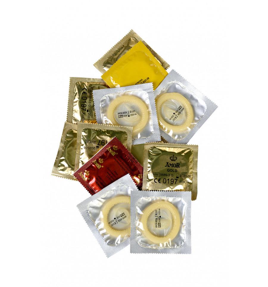 Презервативы EXPERT  ЗАПРЕТНЫЙ ПЛОД светящиеся, золотистые, суперпрочные, 12 шт.