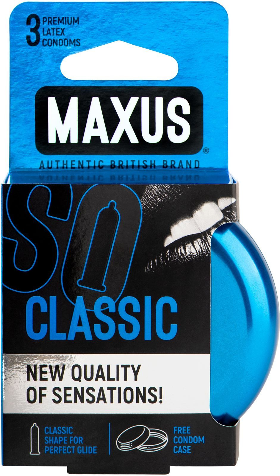 Презервативы классические MAXUS Classic, 3 шт.