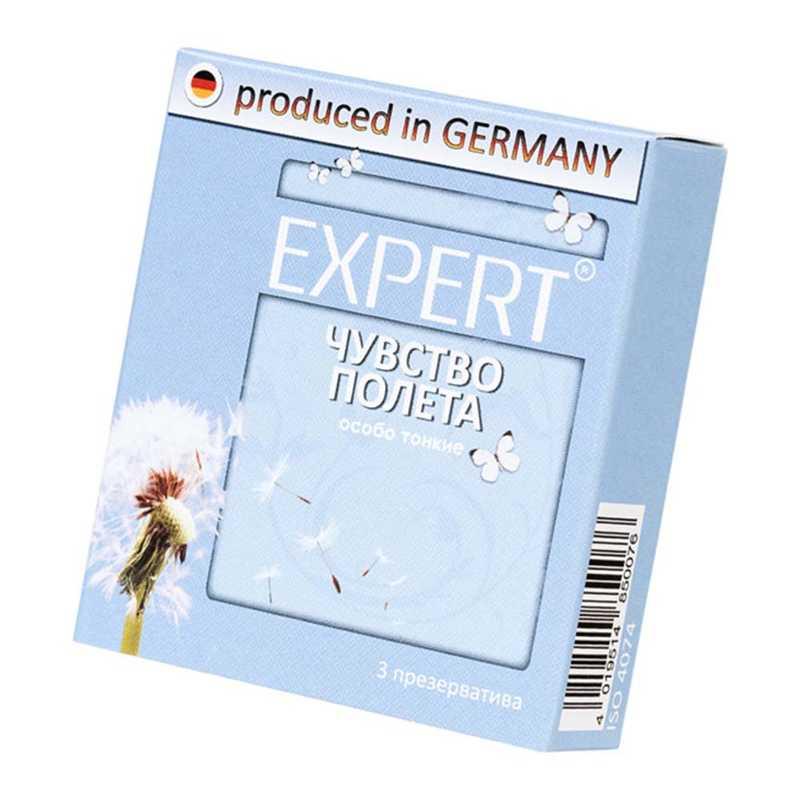Презервативы EXPERT  Чувство полета, супертонкие, 3 шт.