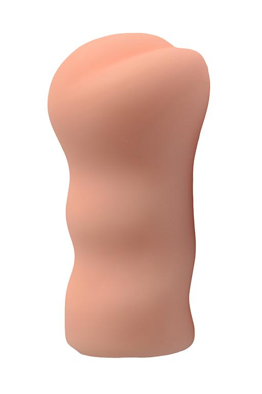 Большой ультра-реалистик мастурбатор REAL WOMAN АЗИАТКА эластомер, 14,5х7,5 см