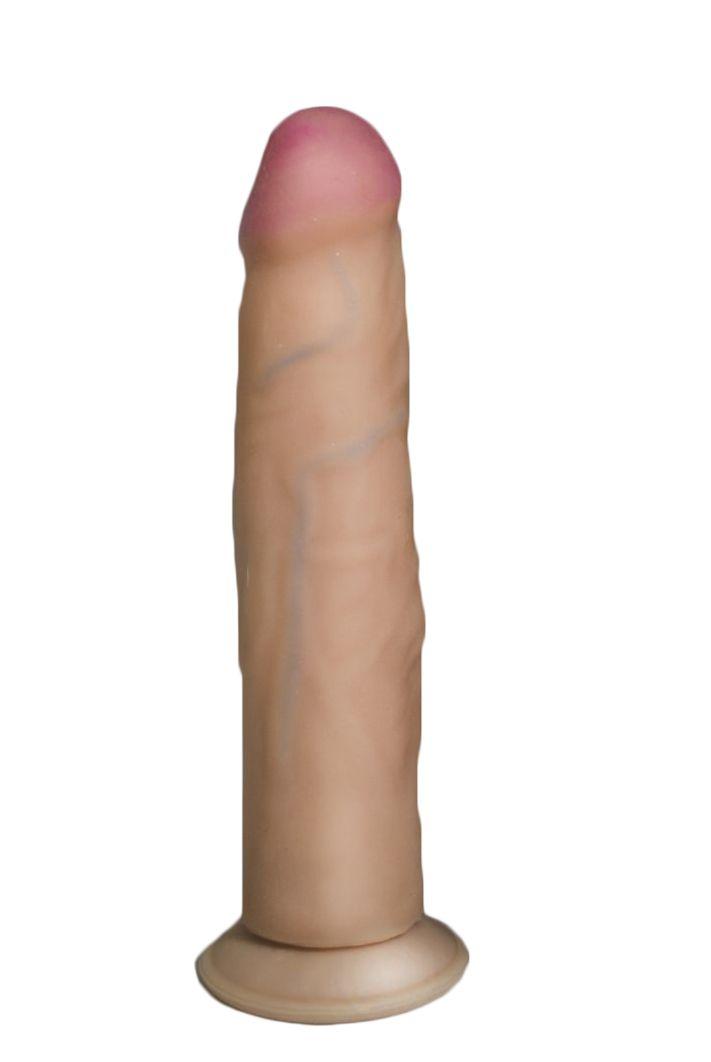 Фалоимитатор HUMAN FORM  на присоске, 21х4,5 см