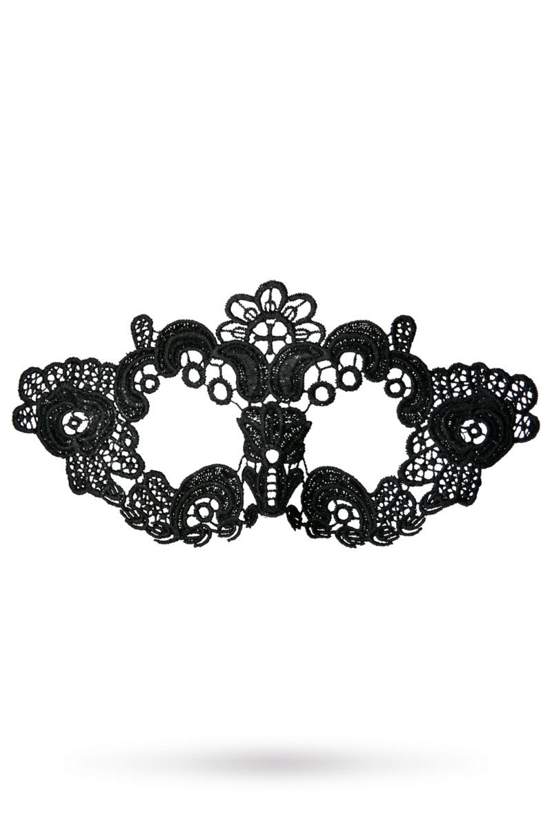 Маска TOYFA THEATRE  ЦВЕТЫ,  нитяная , черная, текстиль