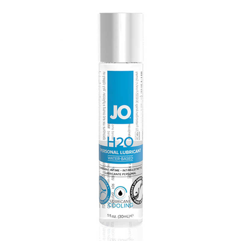 Охлаждающий любрикант на водной основе JO H2O Cool,  30 мл