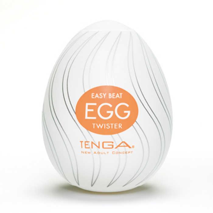АКЦИЯ 30%!Мастурбатор-яйцо TENGA EGG TWISTER,  силикон,  6х5,3 см