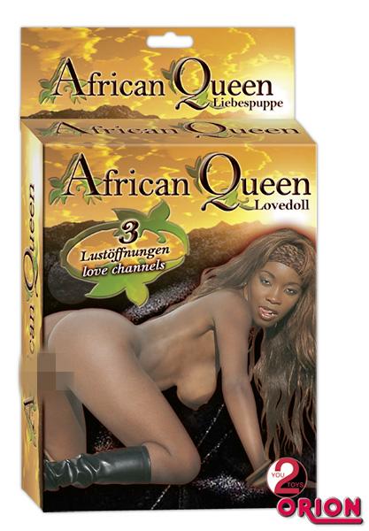 Надувная секс-кукла AFRICAN QUEEN ЧЕРНАЯ КОРОЛЕВА