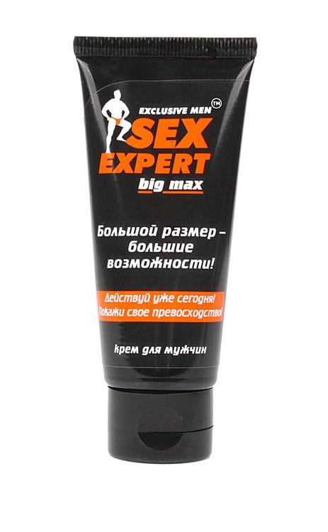 Крем для мужчин BIG MAX, серия Sex Expert, 50 г