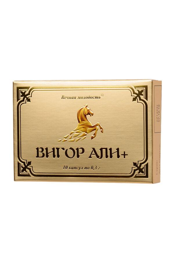 Мужские возбуждающие капсулы ВИГОР АЛИ+, 1 шт.