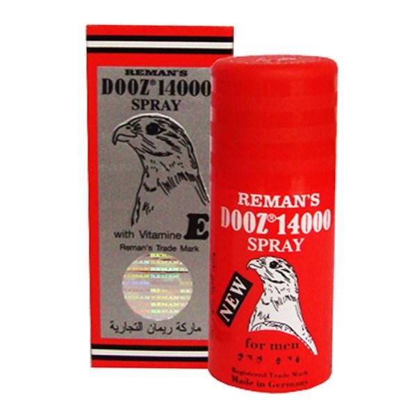Спрей для задержки эякуляции DOOZ 14000  REMAN'S SPRAY с лидокаином,   дозатор, 45 мл