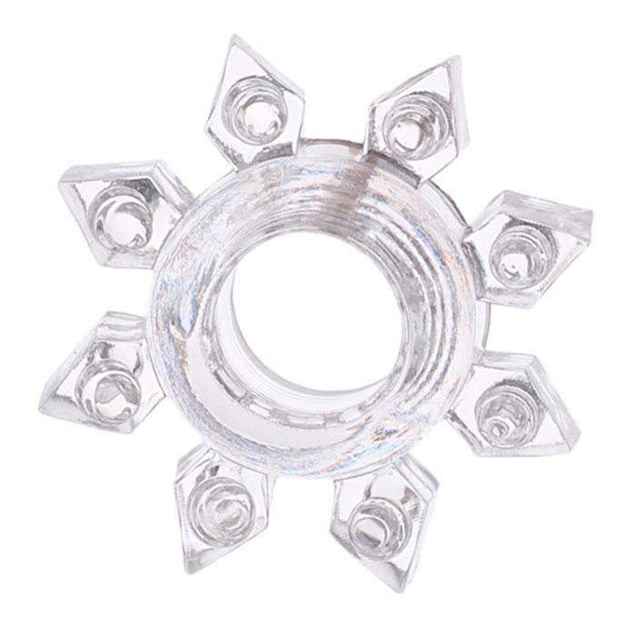 Прозрачное гелевое эрекционное кольцо, 1,5-3,5 см
