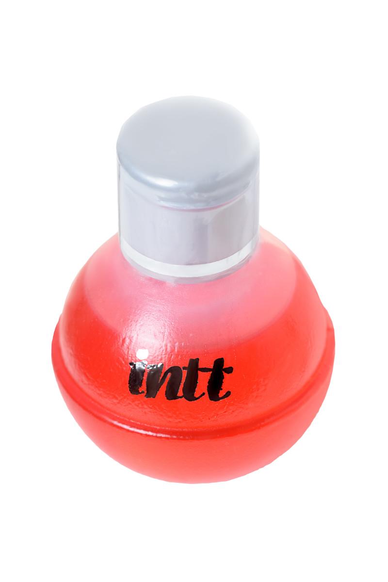 Массажное масло для поцелуев INTT FRUIT SEXY STRAWBERRY & CHAMPAGNE  с разогревающим эффектом и ароматом КЛУБНИКИ И ШАМПАНСКОГО, 40 мл