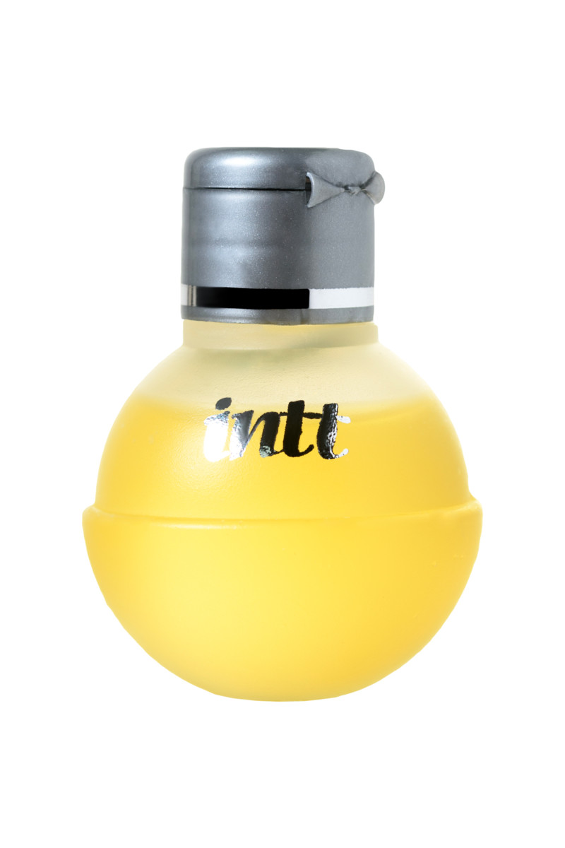 Массажное масло для поцелуев INTT FRUIT SEXY Maracuja с разогревающим эффектом и ароматом МАРАКУЙИ, 40 мл