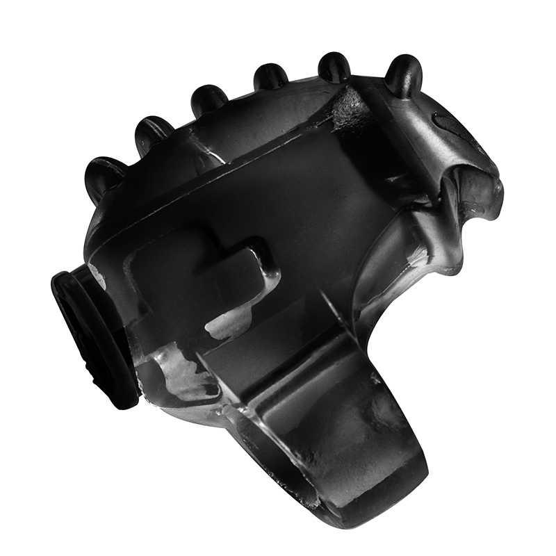 Насадка на палец  вибрирующая RINGS CHILLAX PURPLE, черная, 3,5х2 см