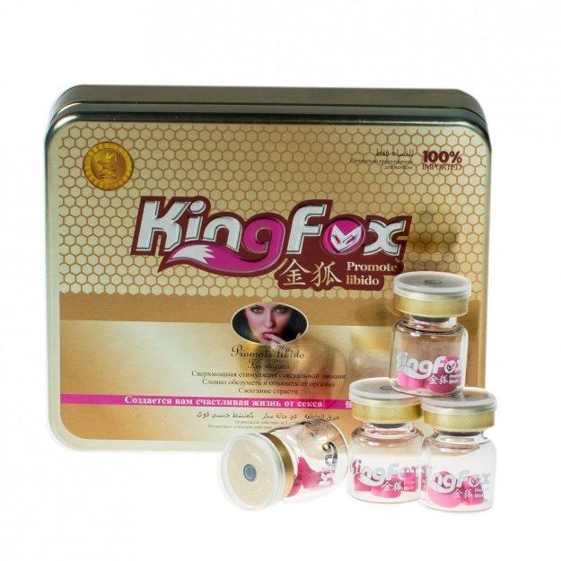 Возбуждающие таблетки  KING FOX для женщин, 1 шт.