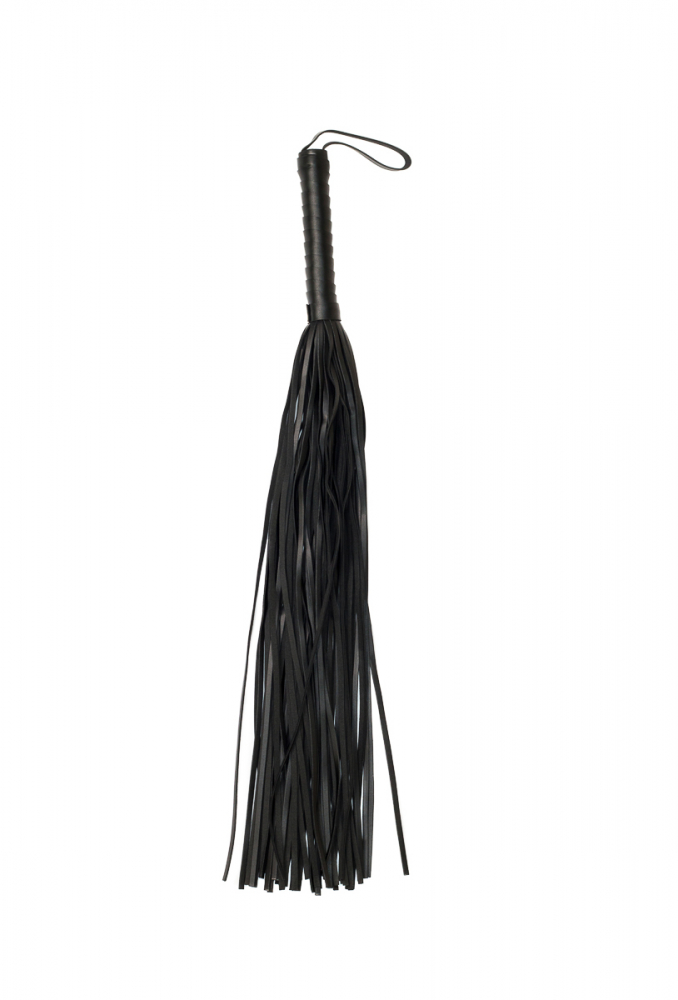 Плеть PARTY HARD DELIGHT, ПВХ, черная, общая длина 70 см