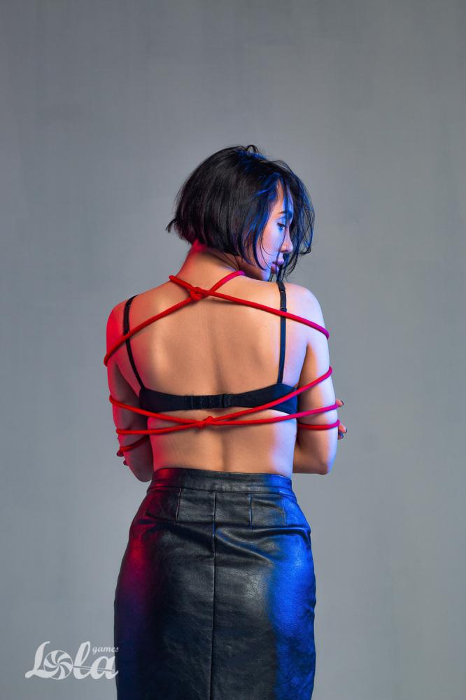 Веревка для связывания PARTY HARD DO NOT DISTURB RED 5 м, красный