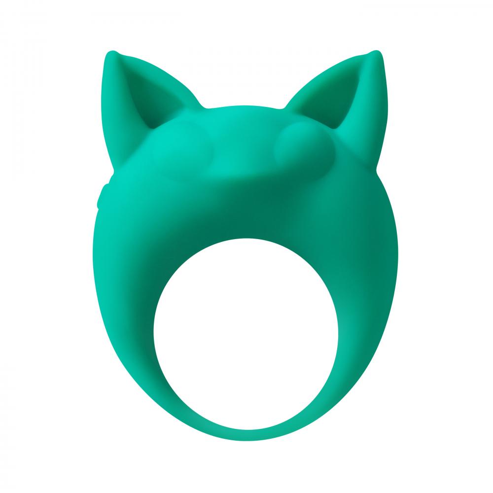 Эрекционное Кольцо MIMI ANIMALS LEMUR REMI GREEN (ЛЕМУР). силикон, зеленое, 7,3х5,7 см